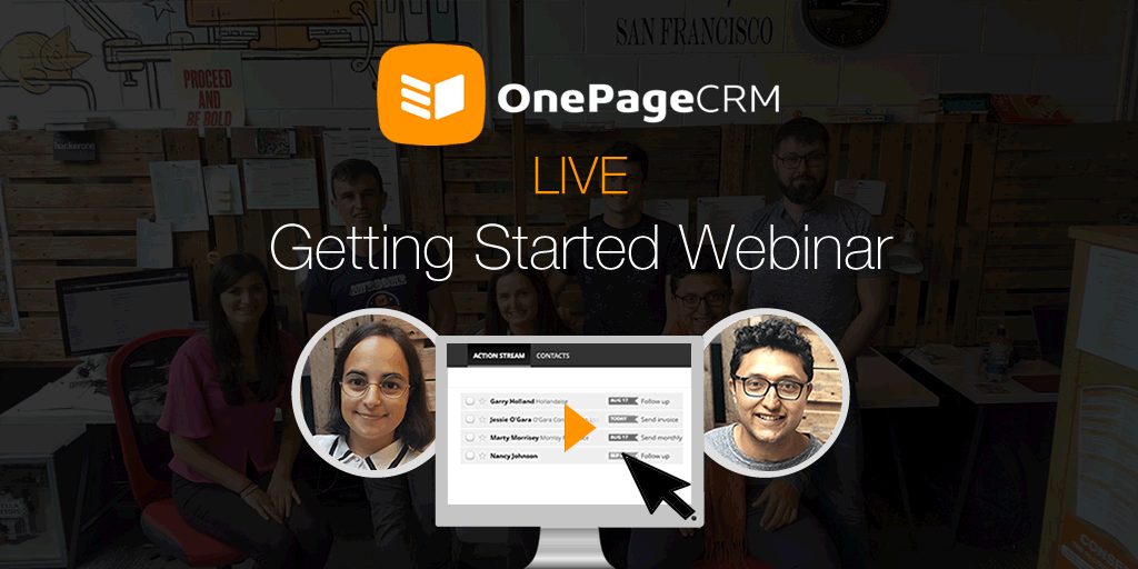 Top CRM software webinars